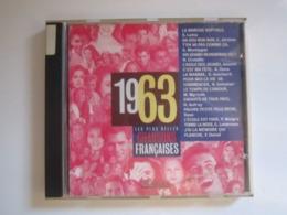 CD 1963 LES PLUS BELLES CHANSONS FRANCAISES 14 TITRES (jaquette Abimée) - Compilations