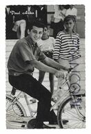Paul Anka à Vélo Vers 1958. - Musik Und Musikanten