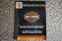 MOTOS HARLEY-DAVIDSON - 50 Numéros Editions Hachette (France)- Année 2001 Format : 22 X 28,50 Cm - Moto
