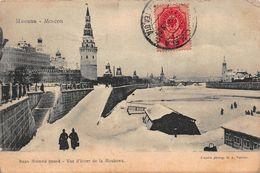 CPA MOSCOU - Vue D'hiver De La Moskowa - Russie