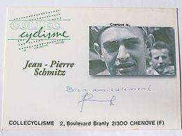 Jean Pierre SCHMITZ - Signé / Dédicace Authentique / Autographe - Radsport