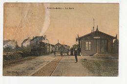 PIRE - LA GARE - TRAIN - 35 - Frankrijk