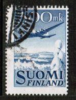FINLAND  Scott # C 3 USED CREASE (Stamp Scan # 724) - Usados