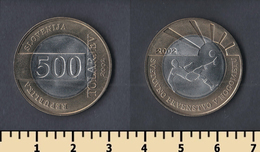 Slovenia 500 Tolars 2002 - Slovenia