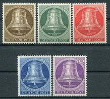 Berlin - Michel 101-105 Pfr.**/MNH - Unused Stamps