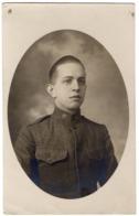 Soldat Américain 1918 Carte Postale US WWI AEF Signal Corps - Unclassified