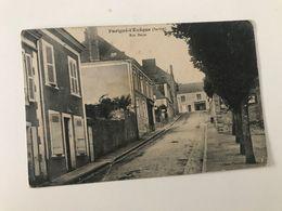 Carte Postale Ancienne (1914) Parigné-l'Evêque Rue Basse - Sonstige Gemeinden