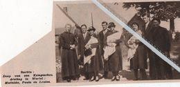 WORTEL..1935.. DOOP VAN DE KEMPISCHEN  DRIELING MATHILDA , PAULA , LOUISA - Non Classificati