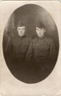 Soldats Américains 1918 Carte Postale US WWI AEF F.A. - Unclassified