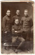 Soldats Américains 1918 Carte Postale US WWI AEF - Unclassified