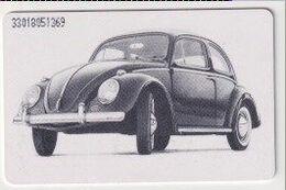 TK 26597 GERMANY - Chip O501 01.93 VW Käfer- 50 Jahre Deutschland 30 000 Ex. MINT! - Coches