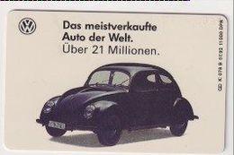 TK 26598 GERMANY - Chip K078B 07.92 VW Käfer- Stiftung Auto Museum Wolfsburg 11 000 Ex. MINT! - Coches