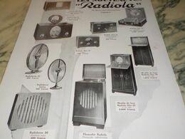 ANCIENNE PUBLICITE LES NOUVEAUTES  RADIOLA  1929 - Radio & TSF