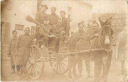 Soldats Américains 1919 Carte Postale US WWI AEF 145th MG Bn. La Lourne ? - Unclassified