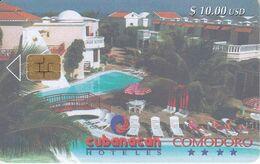 Nº 030 TARJETA DE CUBA DEL HOTEL CUBANACAN COMODORO - Kuba