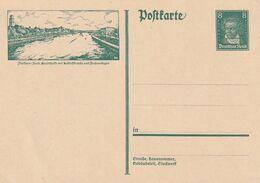 Deutsches Reich / 1927 / Bildpostkarte Mi. P 178 (MUELHEIM) **/postfrisch (DA57) - Alemania