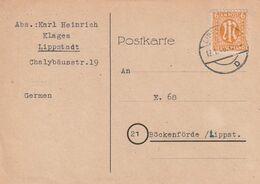 Bizone / 2 Postkarten Je EF (DA59) - American/British Zone