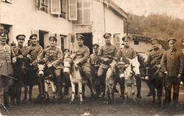 OFFICIERS ALLEMANDS-VOSGES ??? 88-CARTE PHOTO-??????? - War 1914-18