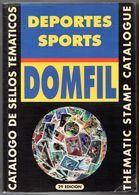 Deportes Sports DOMFIL > Thematic Stamp Cataloque, 29 Edicion, 1708 Pages > NEW - Temáticas