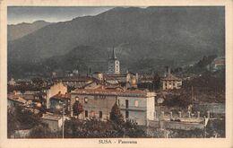 "1351""SUSA-(TO)  PANORAMA"" CART ORIG1933 - Italia"