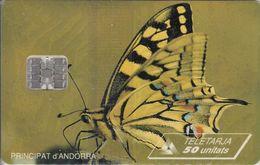 AND025 - Papillon N°1 Jaune - Andorra