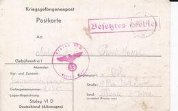 Militaria Guerre 1939/45  Courrier De Prisonnier De Guerre Stalag VI D 30/12/40  Adresse A Dole Jura Ref 1150 - Weltkrieg 1939-45