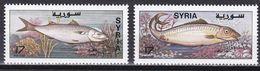 Syrien 1997 - Mi.Nr. 1988 - 1989 - Postfrisch MNH - Tiere Animals Fische Fishes - Fishes