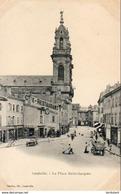D54  LUNEVILLE La Place St Jacques - Luneville