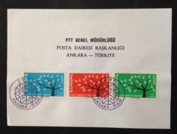 Turkey, Card, « EUROPA CEPT », 1962 - Europa-CEPT