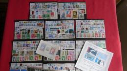 14 Années Complètes De 1974 à 1987 - 781 Timbres Neufs - Valeur Catalogue Yvert Et Tellier 2015 = 870€ - 3 Blocs - 1980-1989