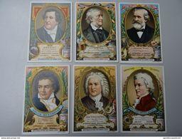 Série Liebig San374 FrançaiseCompositeurs Célèbres: Rossini, Beethoven, Mozart, Bach, Wagner, Verdi - Liebig