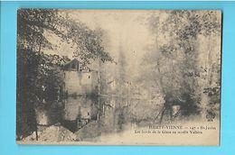 87-----SAINT-JUNIEN--les Bords De La Glane Au Moulin Vallière--voir 2 Scans - Saint Junien
