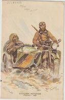 Cavalerie Motorisée -Side-car- Carte Publicitaire BYRRH-Maurice Toussaint -(D.8490) - Material