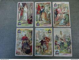 Série De 6 Chromos Cibils: Faust - Trade Cards