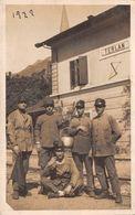 "1355""GENIO FERROVIERI-TERLANO-(BZ) ANIMATA CART ORIG 1922 - Trains"