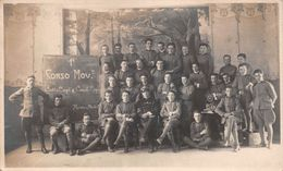 "1357""GENIO FERROVIERI-MERANO- ANIMATA CART ORIG 1922 - Trains"