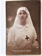 Oude Kleur Postkaart 1916 ?  Van Maria De Corte°1898 Aan Haar Zus Martha(° 1900 ) Te Sèvres  Les Enfants De L'Yser - Sevres