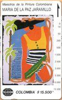 Colombia - CO-MT-50, Tamura, Mujer Caribe, Maria De La Paz Jaramillo, Art, 15,500 $, 10.000ex, Mint - Colombia