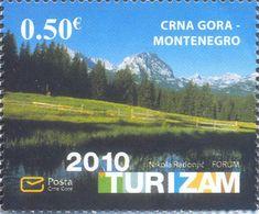 2010, Tourism, Montenegro, MNH - Montenegro