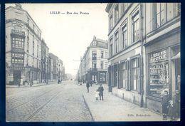 Cpa Du 59 Lille Rue Des Postes     LIL1 - Lille