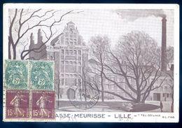 Cpa Du 59 Lille Brasserie Masse Meurisse     LIL1 - Lille