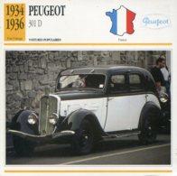 France 1934-36 - Peugeot 301 D - Voitures