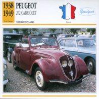 France 1938-49 - Peugeot 202 Cabriolet - Voitures