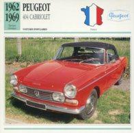 France 1962-69 - Peugeot 404 Cabriolet - Voitures