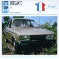 France 1972-88 - Peugeot 104 - Voitures