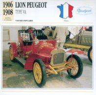 France 1906 - Lion Peugeot Type VA - Voitures