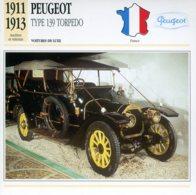 France 1911-13 - Peugeot Type 139 TORPEDO - Autos