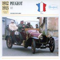 France 1912-13 - Peugeot 143 - Voitures