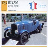 France 1932 - Peugeot 301C De Record - Voitures