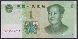 China 1 Yuan 2019 Pnew UNC - Cina